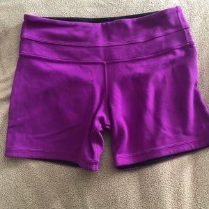 GUC Lululemon Reversible Purple and Black Shorts 6